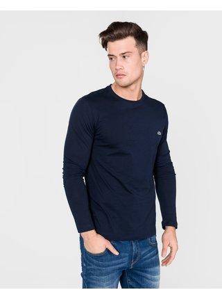 Tričká s dlhým rukávom pre mužov Lacoste - modrá