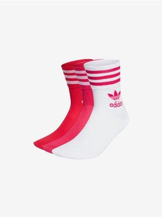 Mid Cut Crew Ponožky 3 páry adidas Originals