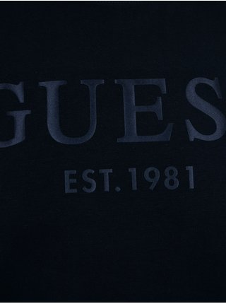 Mikiny bez kapuce pre mužov Guess - modrá