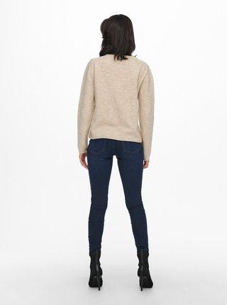 Béžový sveter Jacqueline de Yong Rubi