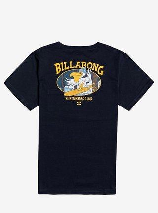 Billabong PIER BOMBER NAVY dětské triko s krátkým rukávem - černá