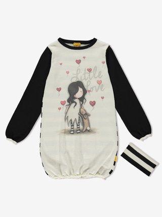 Santoro úpletové dievčenské šaty I Love You Little Rabbit