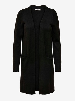 Čierny dlhý kardigan Jacqueline de Yong Rue
