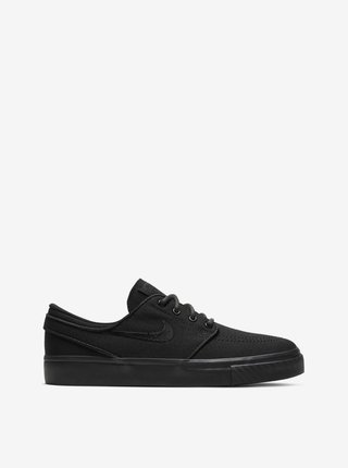 Nike SB JANOSKI (GS) BLACK/BLACK letní boty dětské - černá