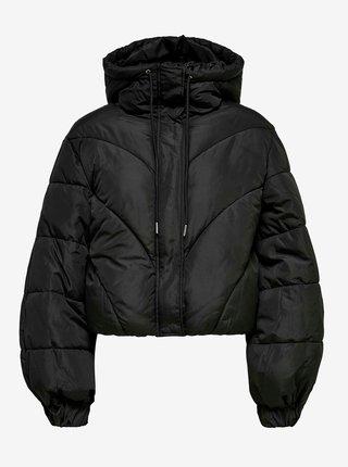 Čierna zimná prešívaná bunda Jacqueline de Yong Destiny