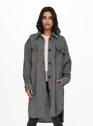 Šedý lehký kabát Jacqueline de Yong Donna