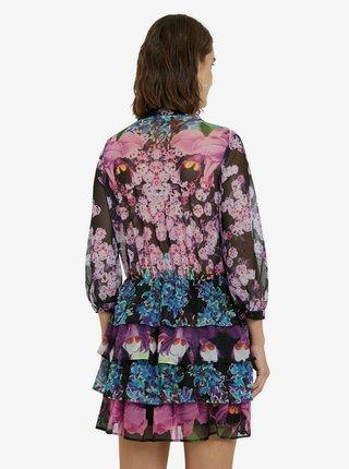 Desigual farebné šaty Vest Olimpia