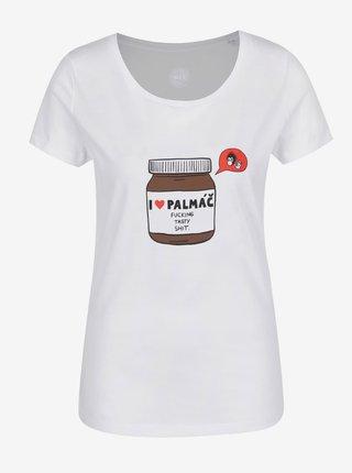Bílé dámské tričko ZOOT Originál Palmáč