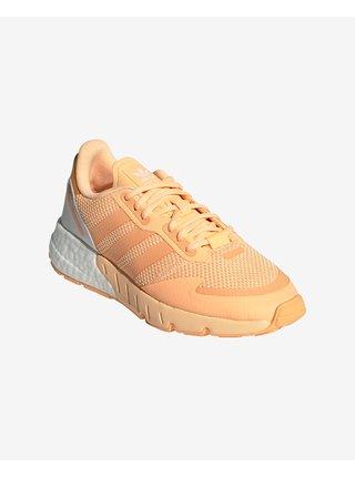 Tenisky pre ženy adidas Originals - béžová, oranžová