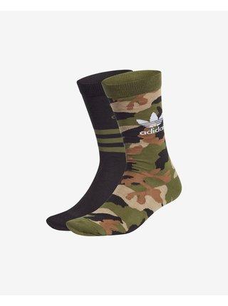 Camo Crew Ponožky 2 páry adidas Originals