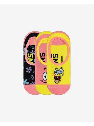 SpongeBob Ponožky 3 páry Vans