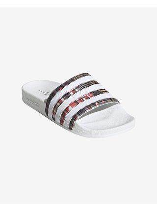Papuče, žabky pre ženy adidas Originals - biela