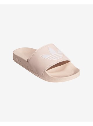 Papuče, žabky pre ženy adidas Originals - ružová, béžová