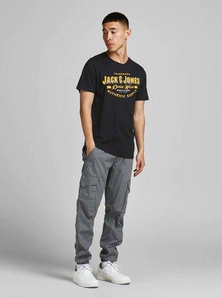 Černé tričko Jack & Jones Logo