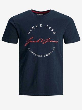 Tmavě modré tričko Jack & Jones Herro