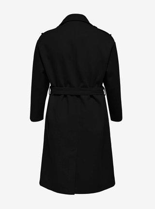 Černý kabát ONLY CARMAKOMA Emma