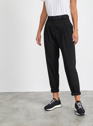 Čierne dámske nohavice s opaskom METROOPOLIS Matylda
