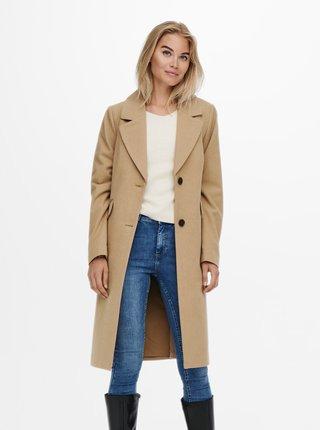 Kabáty pre ženy ONLY - béžová