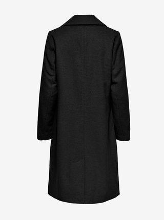 Černý kabát ONLY Louie