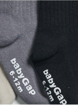 Barevné klučičí vysoké ponožky, 4 páry