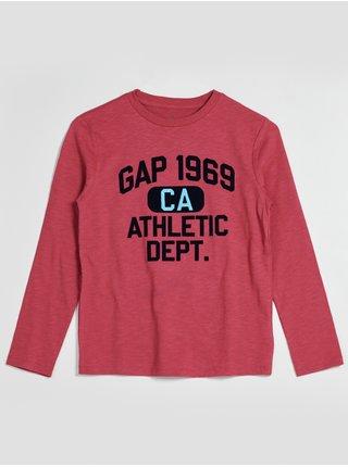 Červené klučičí tričko GAP 1969
