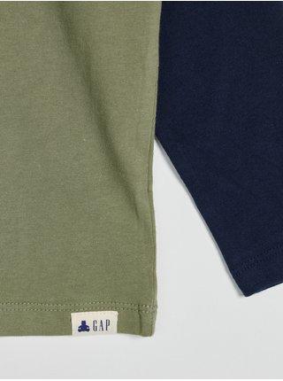 Zelené klučičí tričko s logem GAP