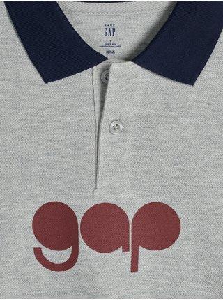 Šedé klučičí tričko po s GAP
