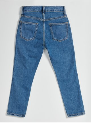Modré klučičí džíny easy taper