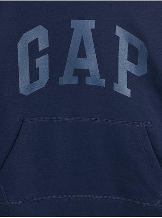 Modrá klučičí mikina kapuce GAP