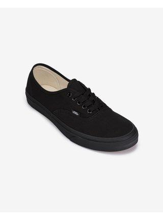 Černé unisex boty VANS Authentic