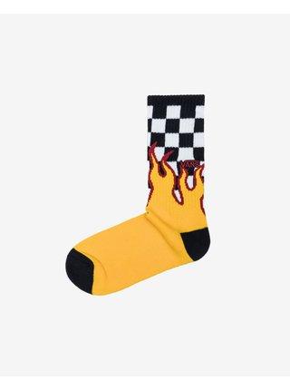 Flame Check Ponožky Vans
