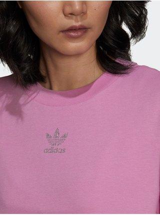 Tričká s krátkym rukávom pre ženy adidas Originals - ružová