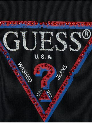 Tielka pre ženy Guess - čierna