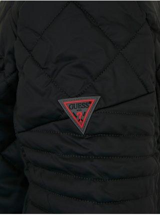 Zimné bundy pre mužov Guess - čierna