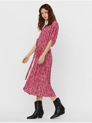 Šaty na denné nosenie pre ženy VERO MODA - ružová