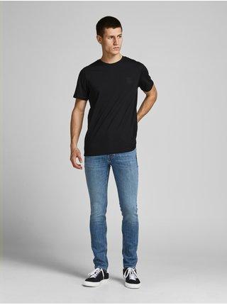 Tričká s krátkym rukávom pre mužov Jack & Jones - čierna