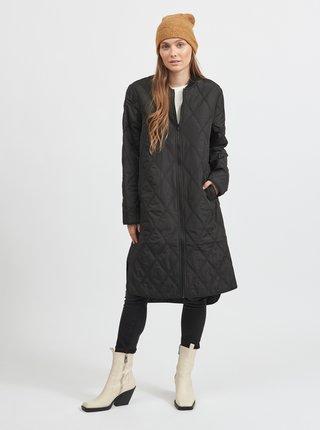 Čierny  prešívaný kabát VILA Quila
