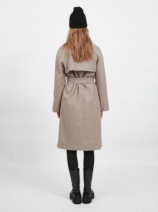 Béžový kabát VILA Binas