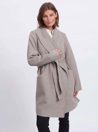 Světle šedý kabát VILA Apple