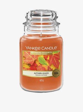 Vonná sviečka Yankee Candle Autumn Leaves (classic veľká)