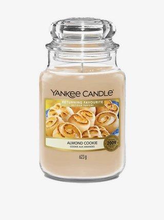 Vonná svíčka Yankee Candle Almond Cookie (classic velký)