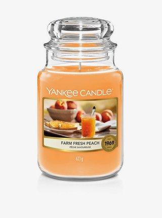 Vonná sviečka Yankee Candle Farm Fresh Peach(classic veľká)