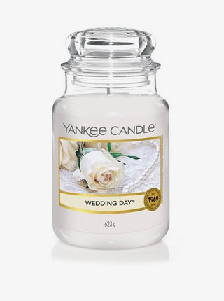 Vonná sviečka Yankee Candle Weding Day (classic veľká)