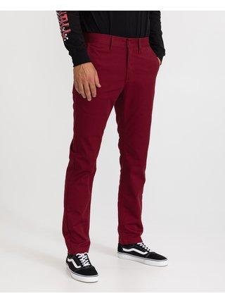Voľnočasové nohavice pre mužov VANS - červená
