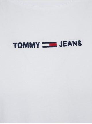 Tričká s krátkym rukávom pre mužov Tommy Jeans - biela