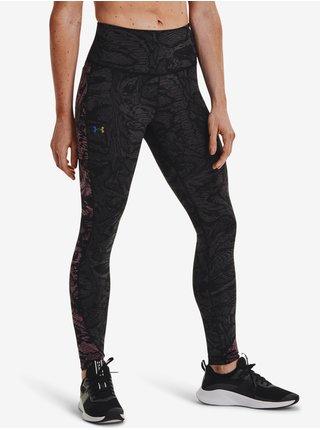 RUSH™ HeatGear® No-Slip Waistband Printed Full-Length Legíny Under Armour