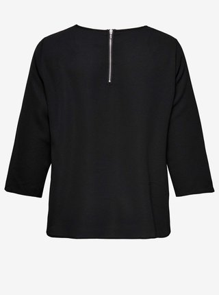 Černý svetr s tříčtvrtečním rukávem ONLY CARMAKOMA Nova