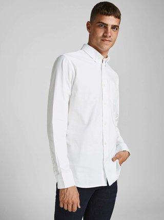 Bílá košile Jack & Jones Blubrook