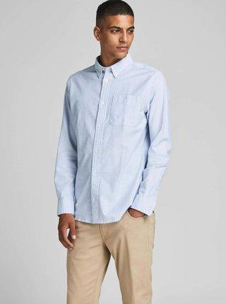 Modro-bílá pruhovaná košile Jack & Jones Blubrook