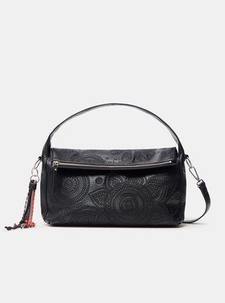 Čierna dámska vzorovaná kabelka Desigual Deja Vu Narbonne Flap